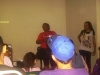 Ativista Elisete MNLM fala ao público