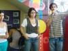 Processo Seletivo da ELC em abril de 2011 (da esquerda para direita: Luana Pinheiro, Cristiane Braz e Anderson Barnabé)