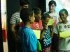 Aula do Curso para Crianças (apresentando exercício)