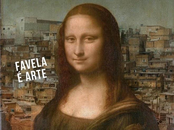 Favela é arte